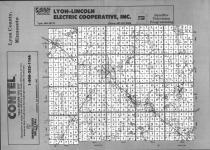 Index Map, Lyon County 1991