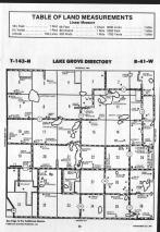 Lake Grove T143N-R41W, Mahnomen County 1989