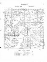 Tenhassen Township, Okamanpeedan Lake, tuttle Lake, Clayton Lake, Bright Lake, Martin County 1961