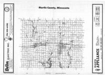 Index Map, Martin County 1987