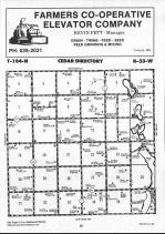 Map Image 012, Martin County 1990