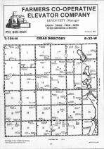 Map Image 011, Martin County 1991