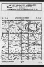 Map Image 001, McLeod County 1989