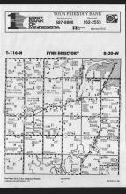 Map Image 011, McLeod County 1989