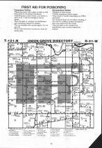 Map Image 001, Meeker County 1983 Published by Farm and Home Publishers, LTD
