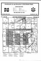 Map Image 015, Meeker County 1983 Published by Farm and Home Publishers, LTD