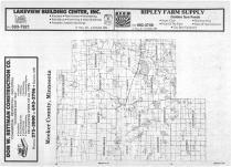Index Map, Meeker County 1987