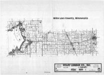 Index Map, Mille Lacs County 1987