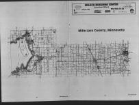 Index Map, Mille Lacs County 1989