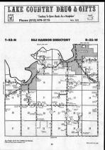 Map Image 034, Mille Lacs County 1990