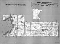 Index Map, Mille Lacs County 1991