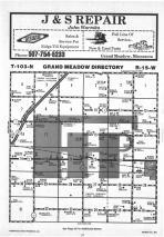 Map Image 037, Mower County 1985 Published by Farm and Home Publishers, LTD