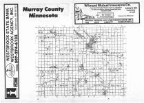 Index Map, Murray County 1987