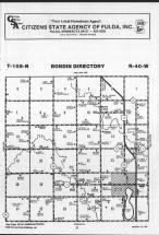 Map Image 011, Murray County 1989
