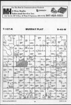 Map Image 012, Murray County 1989