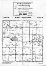 Map Image 010, Murray County 1991