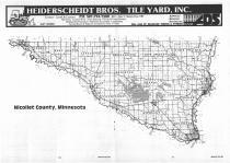 Index Map, Nicollet County 1987