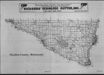 Index Map, Nicollet County 1989