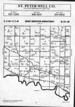 Map Image 001, Nicollet County 1991