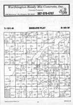Map Image 003, Nobles County 1987
