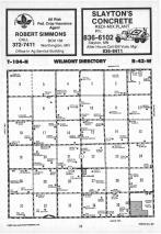 Map Image 008, Nobles County 1987