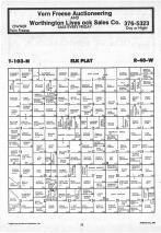 Map Image 015, Nobles County 1987