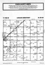 Map Image 032, Nobles County 1987