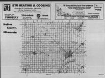 Index Map, Nobles County 1989