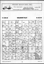 Map Image 004, Nobles County 1989