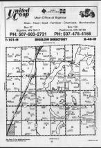 Map Image 007, Nobles County 1989