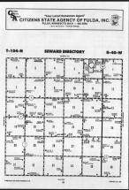 Map Image 014, Nobles County 1989