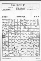Map Image 028, Nobles County 1989