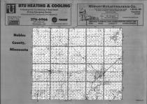 Index Map, Nobles County 1990
