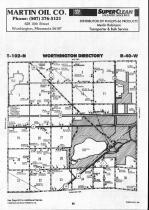 Map Image 001, Nobles County 1990