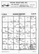 Map Image 003, Nobles County 1990