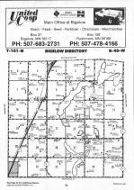 Map Image 007, Nobles County 1990