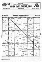Map Image 010, Nobles County 1990