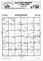 Map Image 011, Nobles County 1990