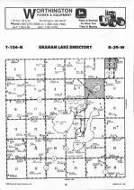 Map Image 015, Nobles County 1990