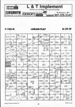 Map Image 020, Nobles County 1990