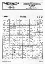 Map Image 033, Nobles County 1990