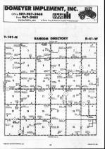 Map Image 034, Nobles County 1990