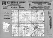 Index Map, Nobles County 1991
