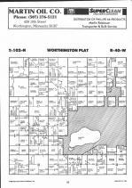 Map Image 002, Nobles County 1991