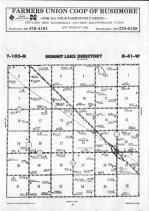 Map Image 010, Nobles County 1991