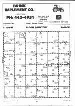 Map Image 011, Nobles County 1991