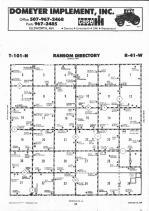 Map Image 018, Nobles County 1991
