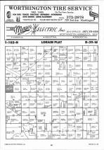 Map Image 028, Nobles County 1991