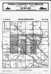 Map Image 015, Olmsted County 1986 Published by Farm and Home Publishers, LTD