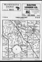 Map Image 005, Otter Tail County 1989